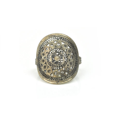 Filigree Sun Ring