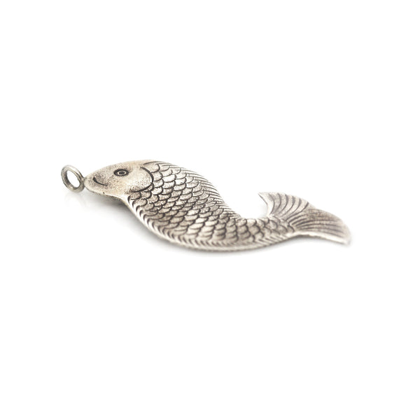 Hill Tribe Fish Charm