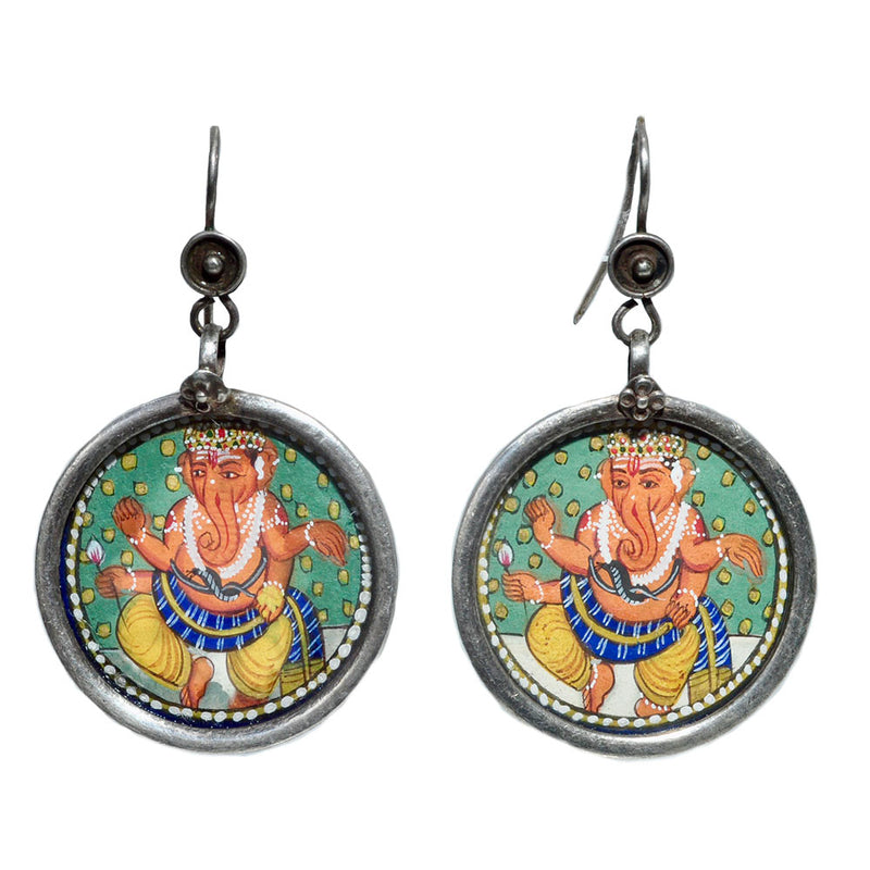 Bountiful Ganesha Earrings