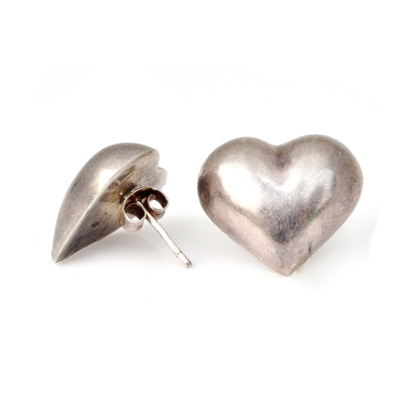 Puffy Heart Earrings