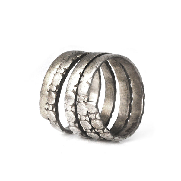 Coiled Pinkie Ring