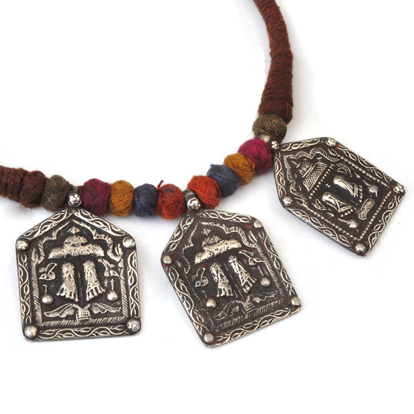 Lord Rama's Sandals Necklace