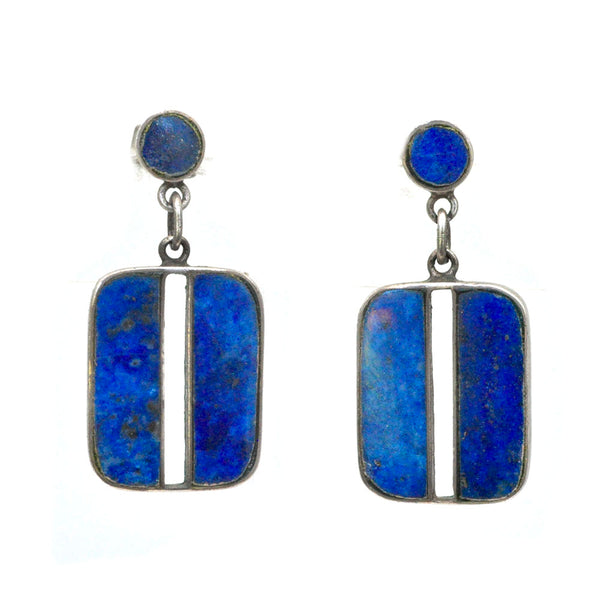 Mexican Lapis Earrings