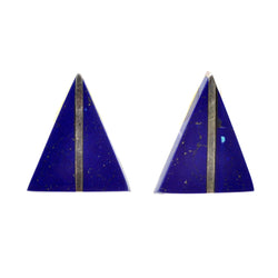 Lapis Ridge Earrings