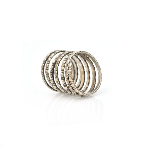 Serpentine Pinkie Ring