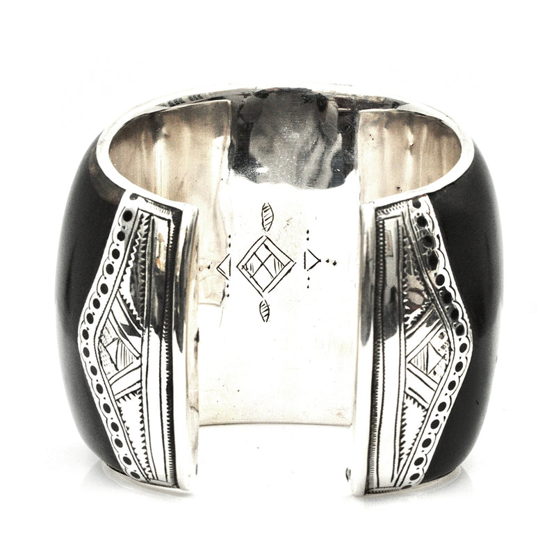 Four Corners Ebony Cuff - Small