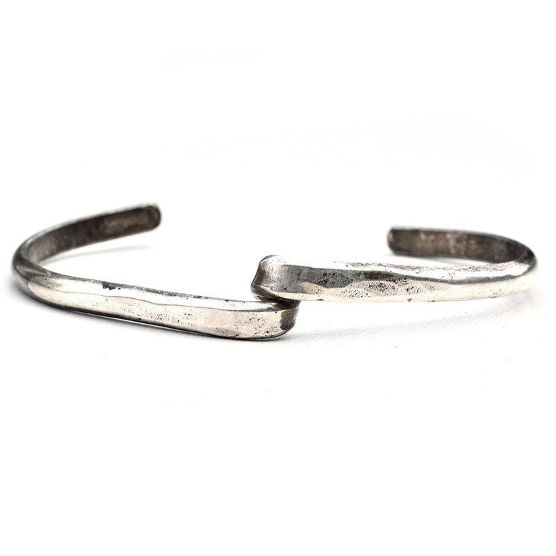 Little Silver Twist Cuff