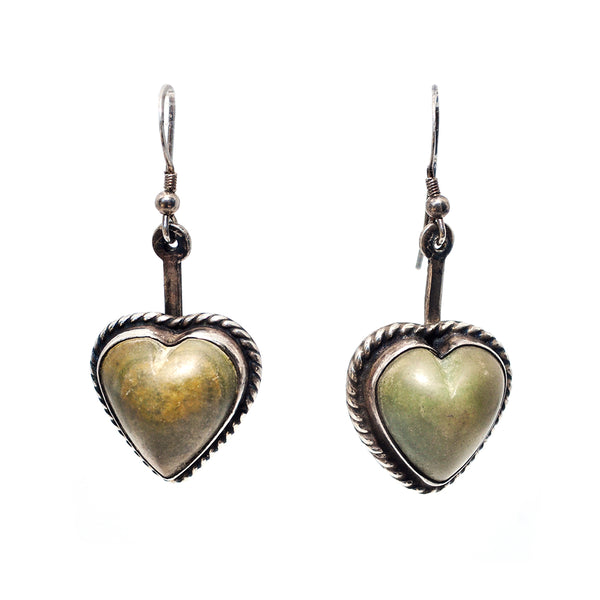 Mexican Heart Earrings