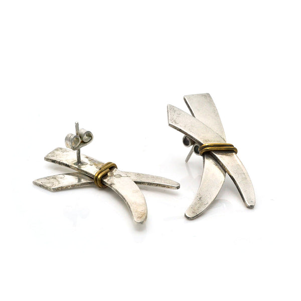 Taxco Bimetal Earrings