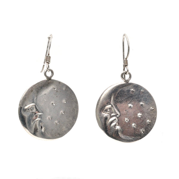 Man in the Moon Earrings
