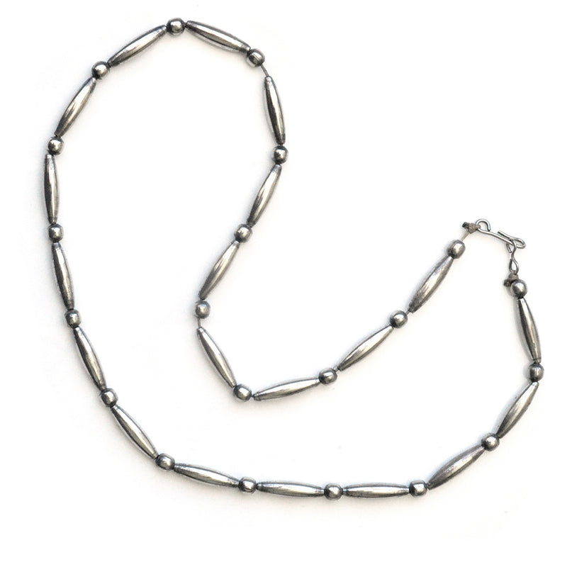 Dine Silver Necklace
