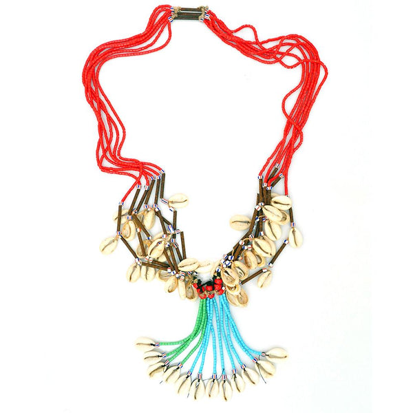 Necklace - Red Fulani Necklace