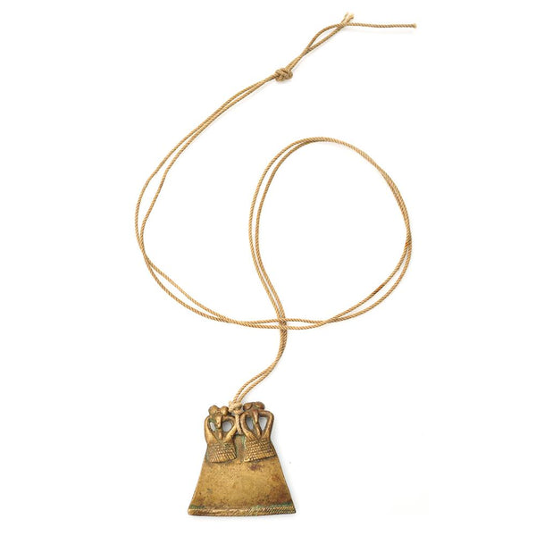 Necklace - Senufo Twin Pendant