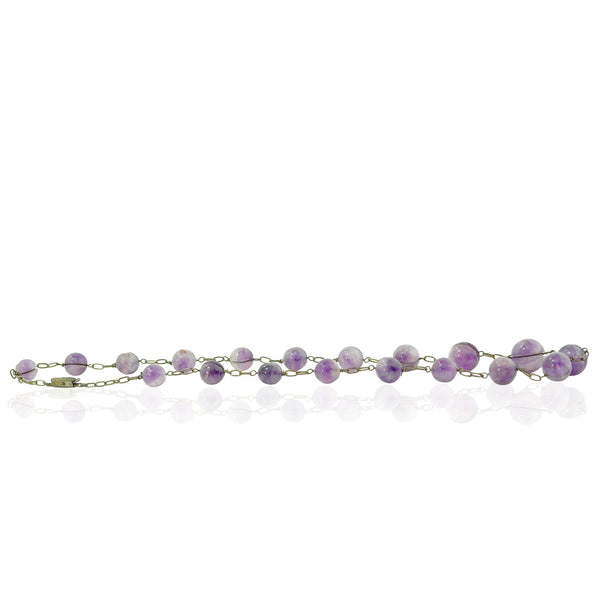 Necklaces - Amethyst Chinese Necklace
