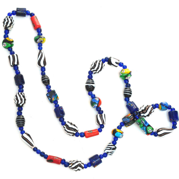 Necklaces - Blue Zebra Trade Beads