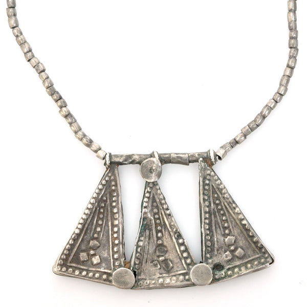Necklaces - Desert Silver Necklace