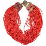 Necklaces - Red Naga Necklace