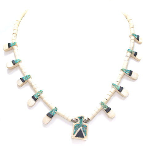 Necklaces - Santo Domingo Thunderbird Necklace