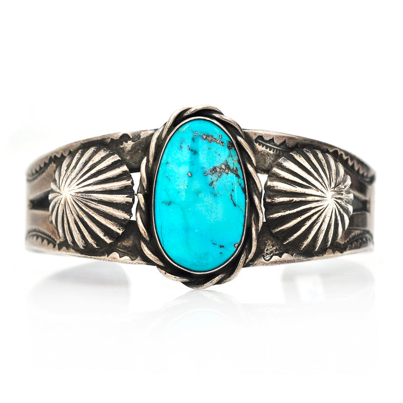 Turquoise Cone Cuff