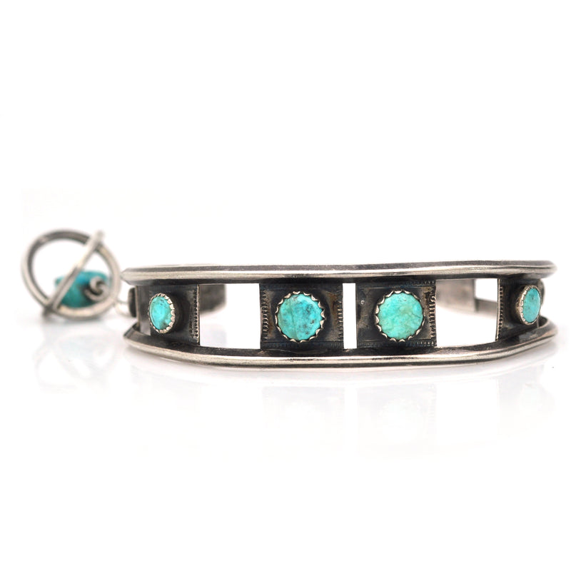 Father's Love Turquoise Cuff