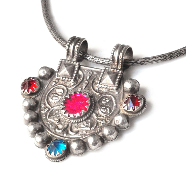 Kutchi Pink Party Pendant