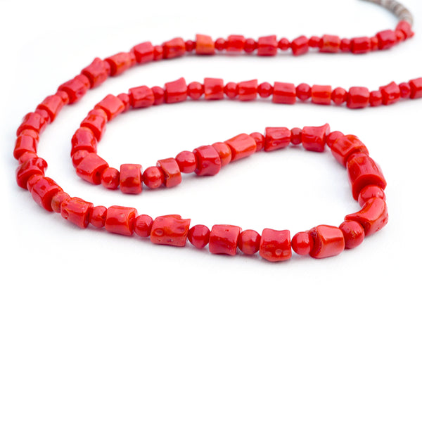 Coral & Heshi Necklace