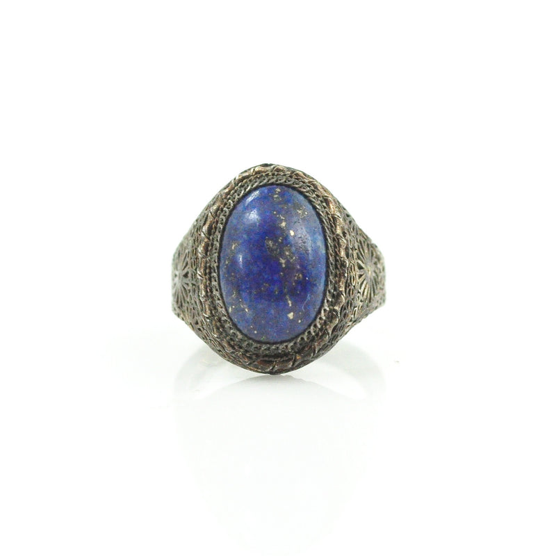 Ring - Chinese Lapis Ring