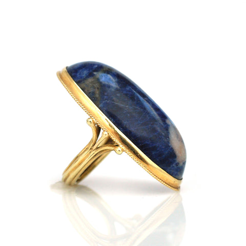 Ring - Massive Lapis 18k Ring