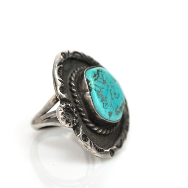 Ring - Navajo Ouroboros Ring