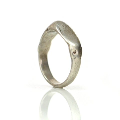 Ring - Tuareg Silver Peak Band