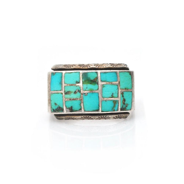 Ring - Turquoise Inlay Ring