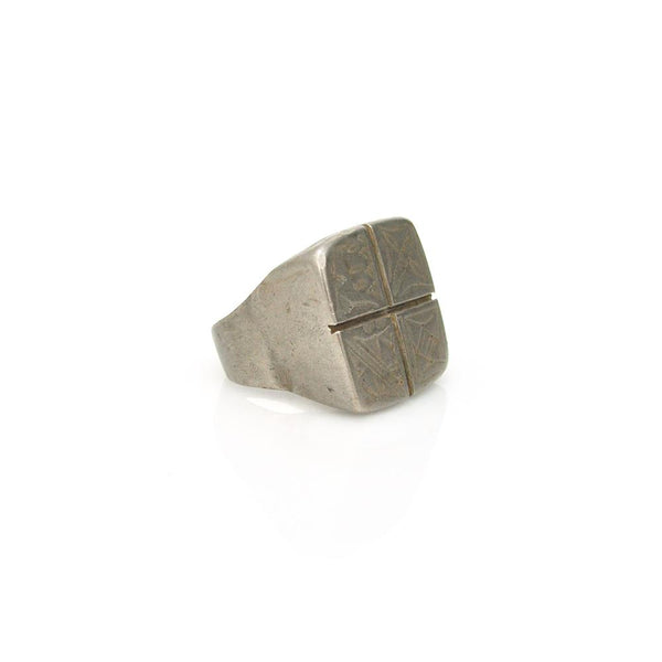 Rings - Tuareg Quarter Signet Ring
