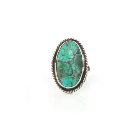 Rings - Turquoise Oval Ring
