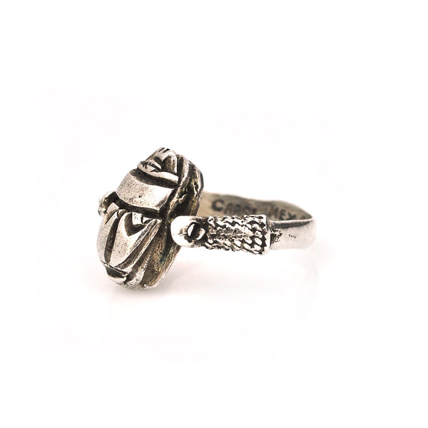 Swivel Scarab Ring