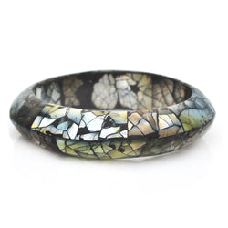 Abalone Mosaic Bangle
