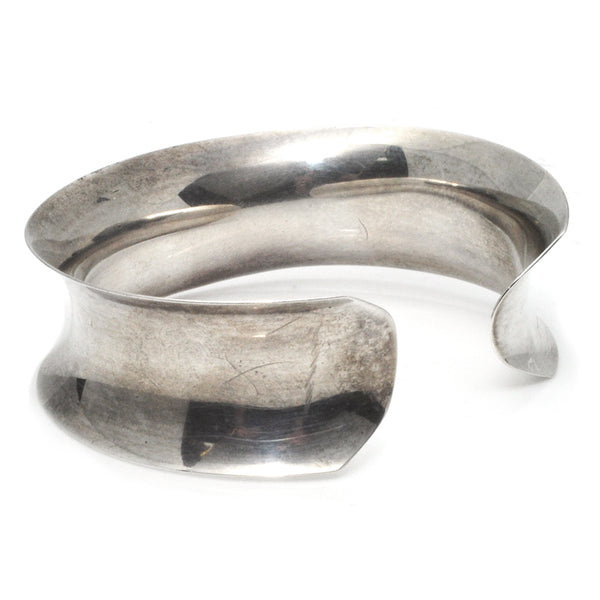 Anticlastic Sterling Cuff