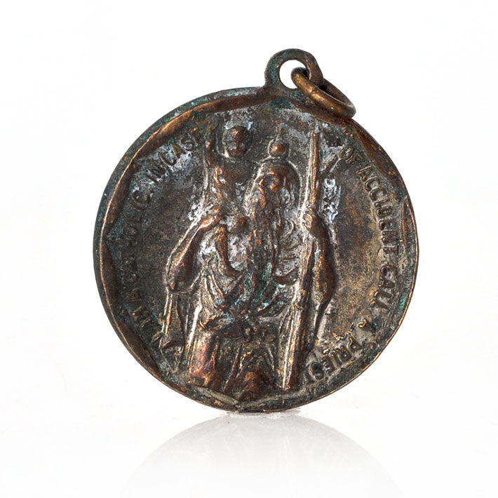 St. Anthony & St. Christopher Charm