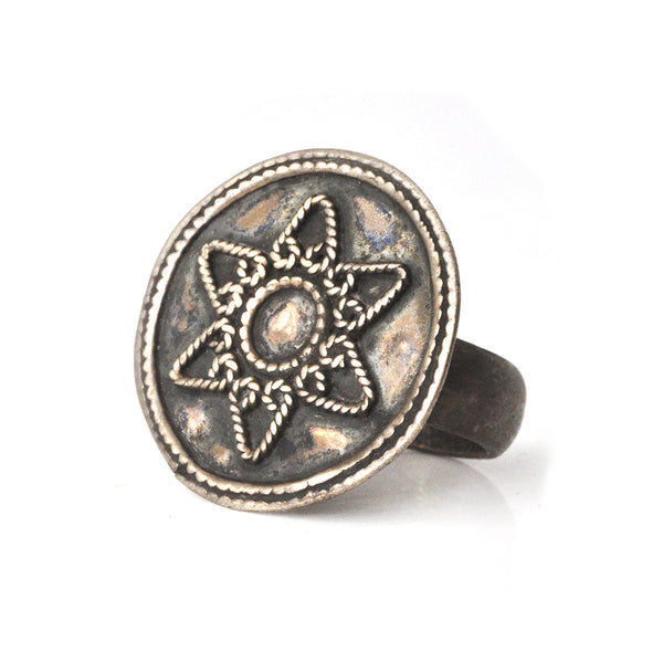 Six-Pointed Star Ring