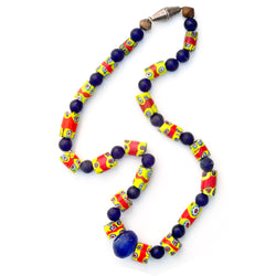 Millefiori Bead Necklace