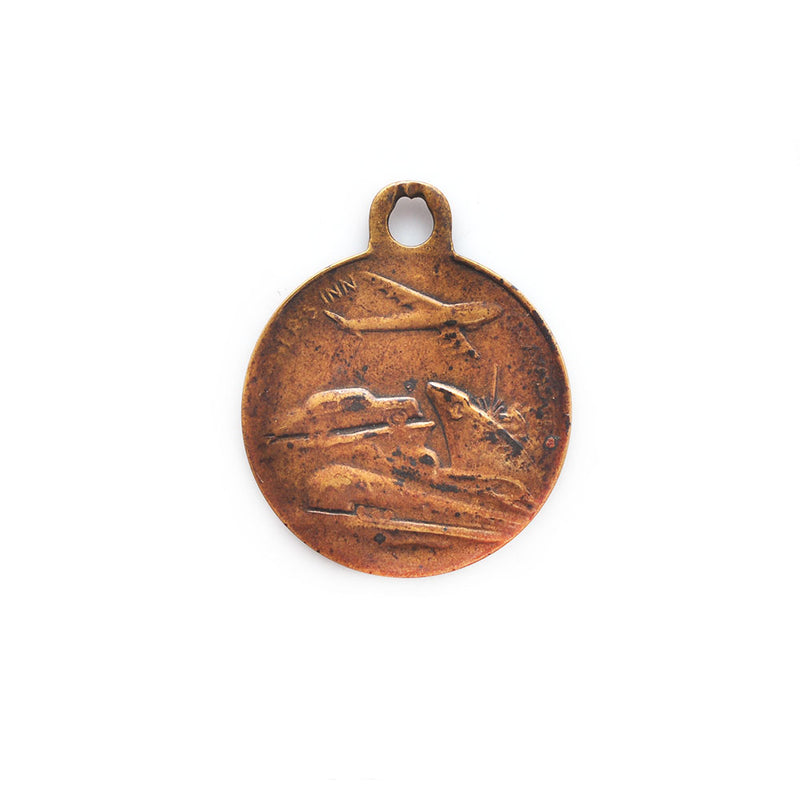 Bronze St. Christopher Charm