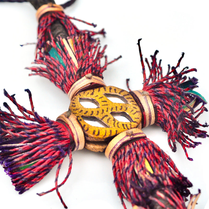 Tuareg Mirrored Tassel Necklace