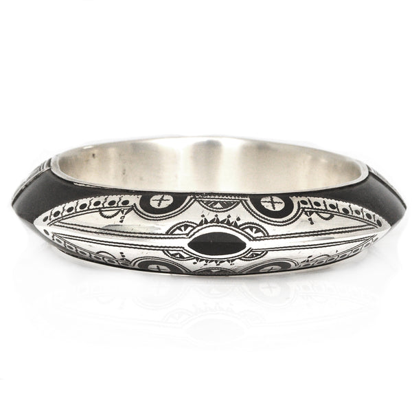 Third Eye Tuareg Bangle