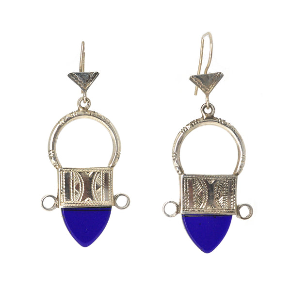 Pointing South Earrings