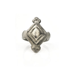 Diamond Plateau Ring