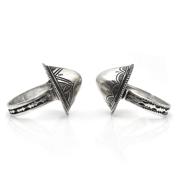 Tuareg Peak Rings
