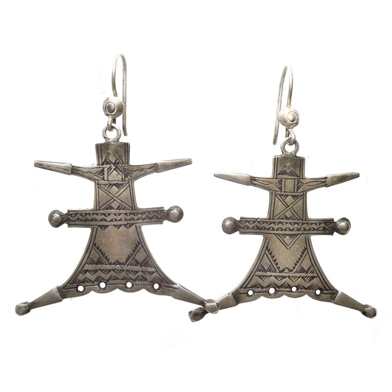 Tuareg Leap Earrings