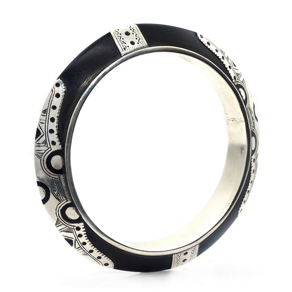Ebony Knife Edge Bangle