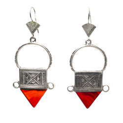 Pointing North Earrings