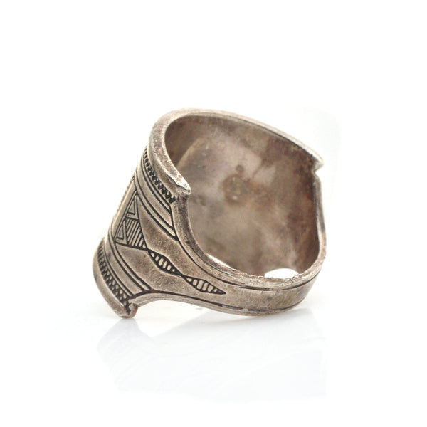 Tuareg Shield Ring