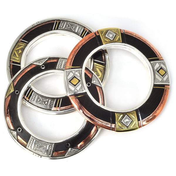 Tuareg Sliver Bangle Set